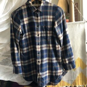 Madewell Rivet and Thread flannel